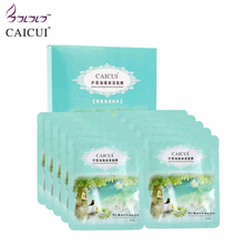 aloe algae plant collagen crystal mask anti-aging moisturizing whitening facial mask beauty face care product face mask makeup *(China)