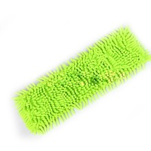 New Floor Folding Flat Mop Easy Wash Head Coral Velvet Chenille Refill Replace Microfibre Fabric Replacement Cloth LH8s