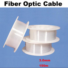 DIY 3.0mm Fiber Optic end tail flashing 150m PMMA plastic Optical fiber for led lighting,decoration ceiling pool floor(China)