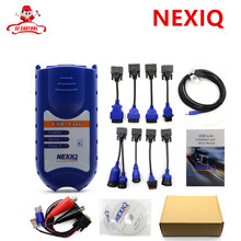 Lowest price 2017 NEXIQ 125032 USB Link Software high quality Diesel Truck Diagnose Interface Installers Nexiq DHL free(China)