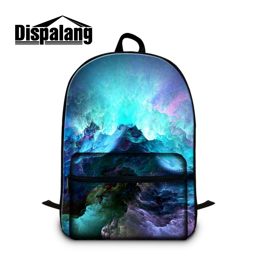 Big School Bags for Teenagers Landsdape Galaxy Printing Backpacks for Children Boys Fashion Back Pack cool book bags for teens <br>