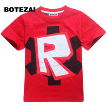 2017 kids clothes boys t shirt Roblox Stardust Ethical cotton t-shirt boys costume Star wars Rogue One roupas infantis menino