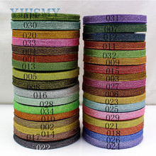 YJHSMY 1710187,10MM 34 color optional 25 yards green onion ribbon, wedding dress ribbon, gift packaging, DIY hand material(China)