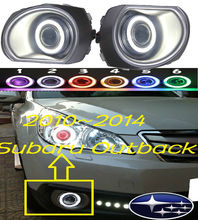 OUTBACK fog light 2010~2014 Free ship!LEGACY daytime light,2ps/set+wire ON/OFF:Halogen/HID XENON+Ballast,OUTBACK