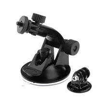 For Gopro SJ4000 Accessories Car Sucker Holder Mount Suction CupFor SJ4000 Camcorder for Go Pro Hero 4 3 2  Action Camera DVR b0