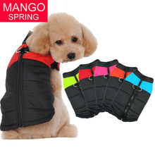 8 Size S-5XL Winter Clothes For Pet Dogs Waterproof Warm Large Dog Vest Cat Puppy Dog Coats Jackets