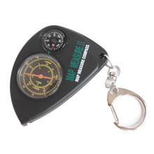 2017 Brand High quality portable odometer multifunction keychain outdoor travel compass rangefinder