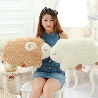 Cute 40cm Sheep plush pillow stuffed plush Cushion sheep plush toys