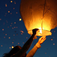 500 pcs Chinese kongming lanterns,Christmas SKY Balloon Kongming wishing Lanterns Flying Light Halloween Lights