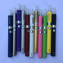 1300MAH EVOD Electronic Cigarette Top Starter Kit Battery Ego MT3 Atomizer Coil Head Replaceable Change Core Wick Safe Vaporizer