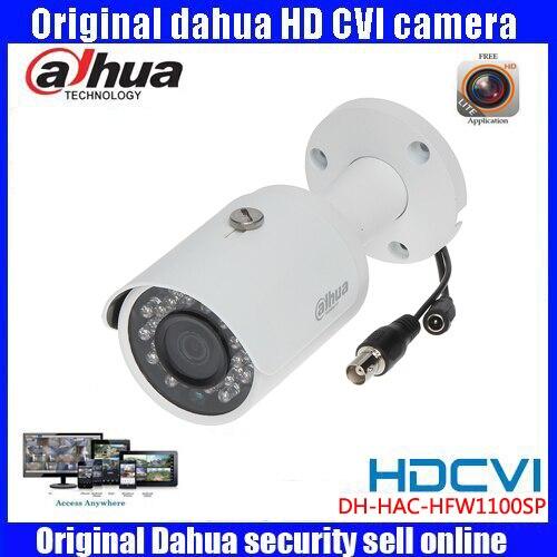HD720p Dahua HDCVI Camera 1MP DHI-HAC-HFW1100S HDCVI IR Bullet Security Camera CCTV IR distance 30m HAC-HFW1100S<br>