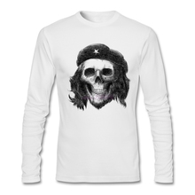 Man White Full Sleeve Tee Shirts  Men Suave Che Guevara Cotton O Neck  shopping t shirts online