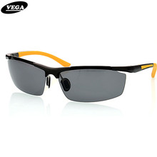 VEGA Best  Polarized Sport Sunglasses For Biker Driver Police Shooting Eyeglasses For Men Women Half Alloy Frame 8530