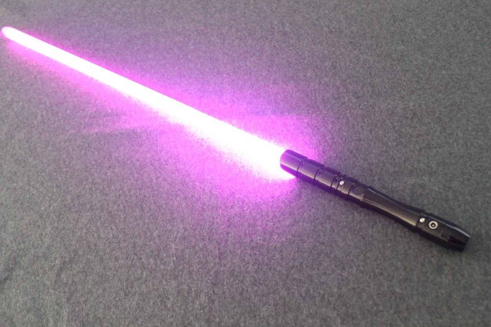 2018 New 1 Pcs Cosplay Lightsaber With Light Sound Led Red Green Blue Saber Laser Metal Sword Toys Birthday Star Kids Gifts Game (15)