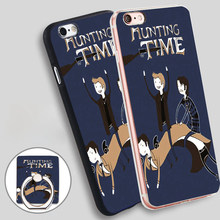 Latest Supernatural Adventure Time Hunting Soft TPU Silicone Phone Case Cover for iPhone 5 SE 5S 6 6S 7 Plus