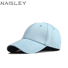 NAISLEY Baseball Cap Men Hat Women Suede Snapback Hat Cap Gorra Hombre Autumn Winter Models Solid Color Cotton Denim Hat Winter(China)
