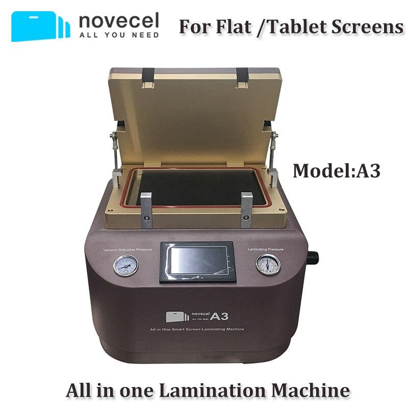 Novecel A3 All in one Vacuum OCA Laminating Machine / Bubble Free Bonding Machine