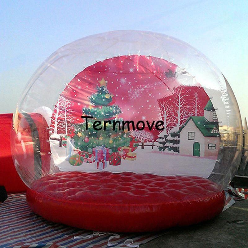 Inflatable Christmas Snow Globe2