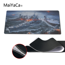 MaiYaCa Original Design Computer Speed Mouse Pads World Of Warship Gaming Mouse Pad Rubber Gamer Soft Comfort Mouse Mat