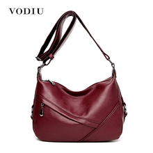 Buy Women Bags Leather Tote Shoulder Sling Messenger Crossbody High Ladies Fashion Zipper 2017 Hot Sale Female Handbag for $29.62 in AliExpress store