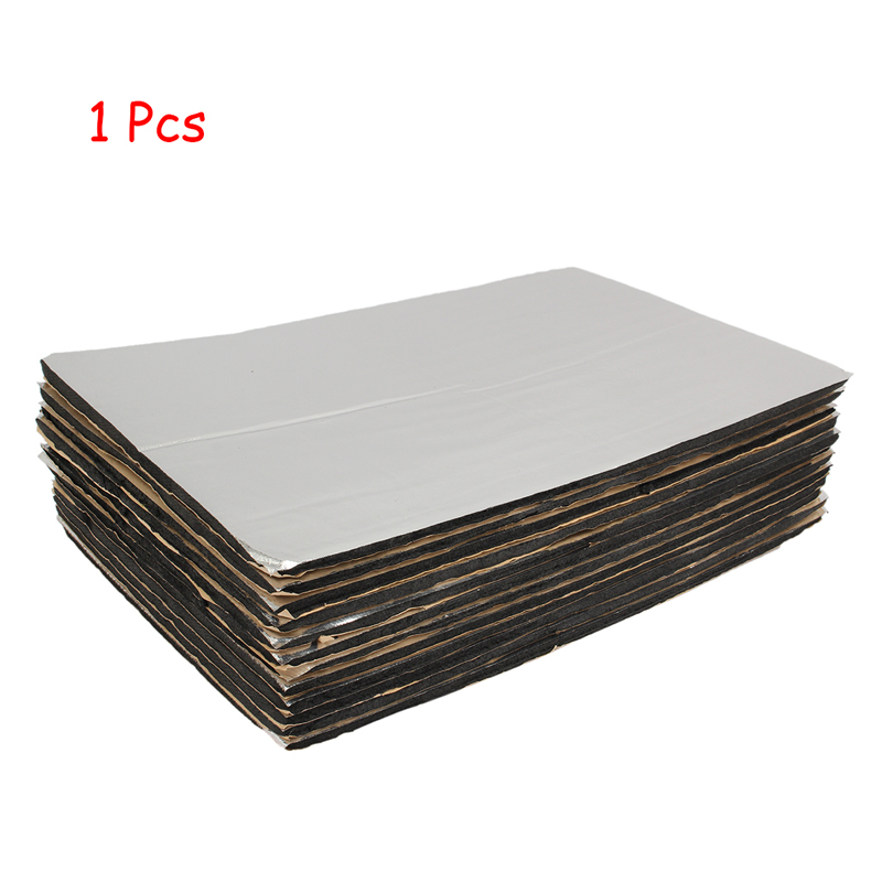 9 Sheets 6mm Thickness 30X50cm Car SUV Roof Door Sound Proofing Deadening Cotton