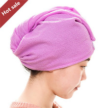 2017 Magic Quick-Dry Hair Towel Hair-drying Ponytail Holder Cap Towel Lady Microfiber Hair Towel HH07