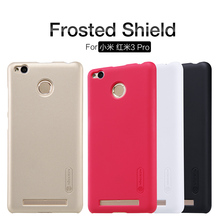 Buy 10pcs Wholesale NILLKIN Super Frosted Shield Case Xiaomi Redmi 3S/Red Rice 3s/Xiaomi Redmi 3 pro Gift Screen Protector for $57.52 in AliExpress store