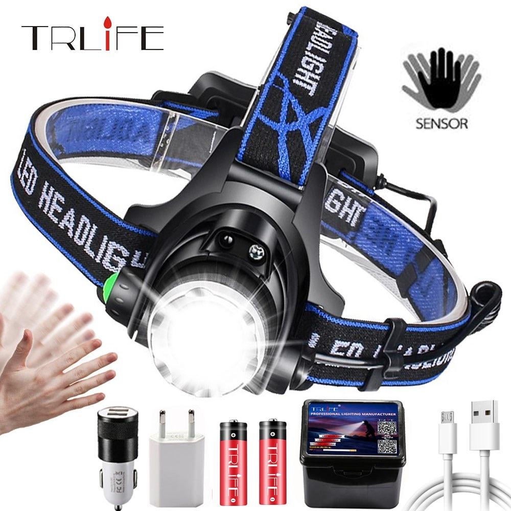 Tactical Flashlight Aluminum Torch Head Light Zoomable Headlamp Super Bright USA