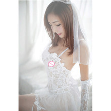 women sexy lingerie hot white bride wedding dress uniforms porn erotic lingerie women exotic apparel sexy costumes underwear