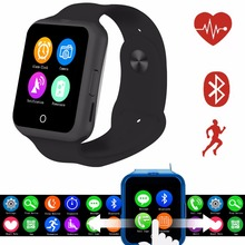 SIM Card Smart Watch plus Cam Touch Screen Phone Heart Rate Passometer Fitness Tracker Wearable Smartwatch for iPhone for Anroid