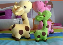 Stuffed animal 40cm lovely giraffe plush toy doll gift w1497(China)