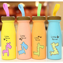 1pcs Cartoon Water bottles Creative Stainless Steel Child Water bottles Personalized Portable Juice Water bottles for Kid B5