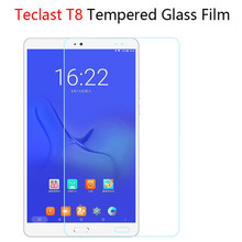 Tempered Glass Screen Protector For Teclast Master T8 8.4 inch Tablet PC Android 7.0 Tablet 9H Anti Shatter Screen film Guard(China)