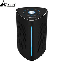 ADIN V8 Vibration Speaker 36W Bluetooth Speakers Wireless Subwoofer Metal NFC Stereo 3D Surround Touch Computer Phone Speaker(China)