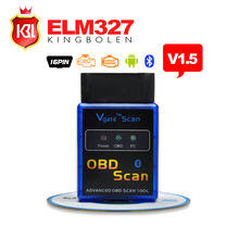 A++Quality MINI ELM 327 Bluetooth with PICI8F25K80 Chip Vgate Scan OBD2 / OBDII ELM327 Bluetooth V1.5 Code Scanner FREE SHIPPING