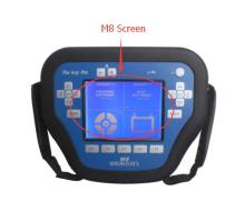 2017 High Quality Newest Only Screen for Car Key Programmer MVP Key Pro M8 High Quality and Easy to Use