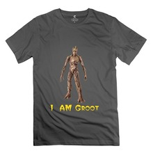I Am Groot Fashion 100% Cotton T Shirt Cotton t shirt slogans Customized shirts for mens
