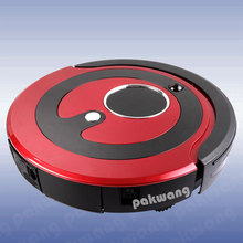 PAKWANG A380 Robot Vacuum Cleaner  Mute Vacuum Clean Sweeper for Home, Red  Robot Aspirador