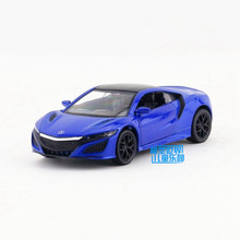 Free Shipping/1:36 Scale/Honda Acura NSX Sport Car/Education Model/Classical Pull back Diecast Metal toy/For Collection Gift