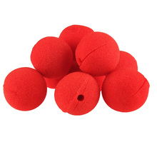 10pcs Fun Red Nose Foam Circus Clown Nose Comic Party Supplies Halloween Accessories Costume Magic Dress Party Supplies -46