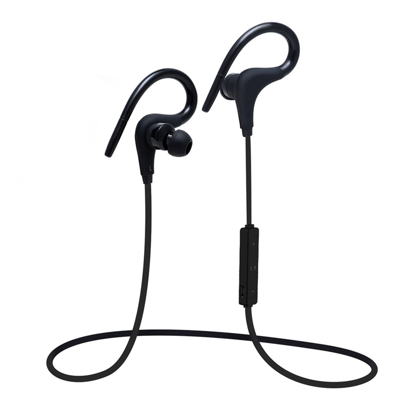 Sport Bluetooth Headphones H2 Waterproof Sweatproof Sport Ear Hook Earphone HiFi Headset Neckband<br><br>Aliexpress