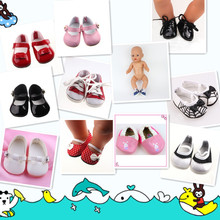 New Style shoes Wear fit 43cm Baby Born zapf, Children best Birthday Gift