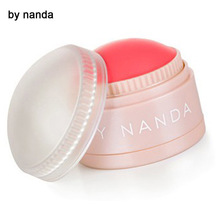 by nanda 5 Colors Face Blusher Ball Soft Moisturizing waterproof Cream Blush Makeup Soft Silky Bronzer Sweet Glow Cheeks Natural