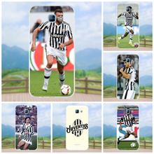 Onlytake Soft Protective Football Soccer Team Juventus New Black For Samsung Galaxy A3 A5 A7 J1 J2 J3 J5 J7 2015 2016 2017(China)