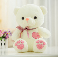 cute teddy bear large 90cm doll plush toy bear soft throw pillow , birthday gift x086(China)