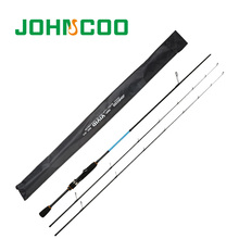JOHNCOO 2017 NEW 1.92m Lure Fishing Rod Fast Action UL/L Tips Carbon Spinning Rod Jigging Fishing rod 2 sections Fishing Tackle(China)