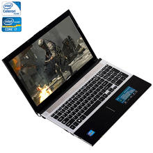 ZEUSLAP 15.6inch Intel Core i7 or Celeron 8GB RAM+750GB HDD Windows 7/10 System Wifi Bluetooth CDRW ROM Laptop Notebook Computer