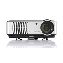 2017 New Android 4.4 LED Projector Full HD 1080P WiFi 5600 Lumens TV Smart Projector Free shipping