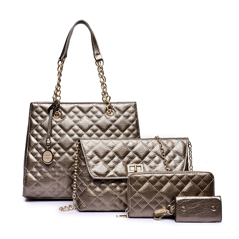 2016 New Arrival Women Shoulder Bags Sets 3Pcs Lady Elegant Composite Bag Women Leather Handbags Totes Women bag ladies shoulder<br><br>Aliexpress
