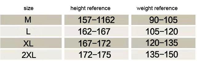 women size reference